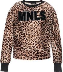 monnalisa leopard print sweatshirt