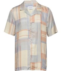 bo shirt overhemd met korte mouwen blauw holzweiler
