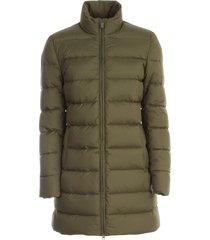 aspesi gianduja padded jacket 3/4s