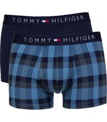 tommy hilfiger short icon check 2-pak