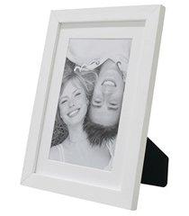 porta retrato com paspatur insta 15x21cm branco