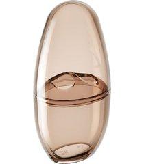 porta escova spoom com tampa 10,4x8,3x2,1cm rosa blush - 20858/0467 - coza - coza