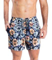 pantaloneta corta verano hawai amarillo