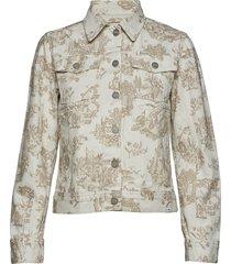 june jacket jeansjack denimjack crème wood wood