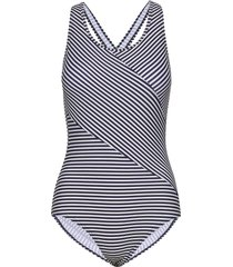 brighton, swimsuit badpak badkleding blauw abecita