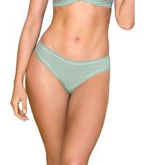 panty brasilera verde leonisa 012899