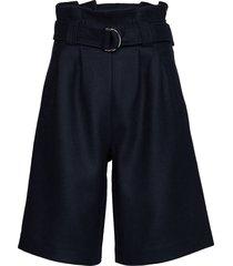 wool bermudashorts shorts blå ganni