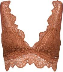 bra julia bralette lingerie bras & tops bralette and corset orange lindex