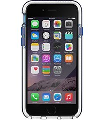 tech21 evo band case for iphone 6 6s - retail packaging - blue/white