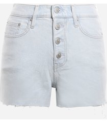 calvin klein jeans high-waisted shorts made of stretch cotton