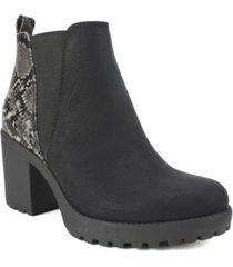 seven dials pelton chelsea women's booties women's shoes