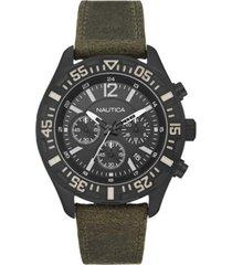 reloj casual verde nautica