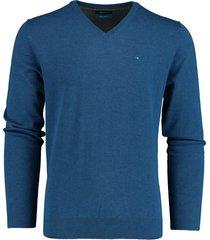 bos bright blue pullover v-hals kobalt katoen 20305vi01bo/247 cobalt