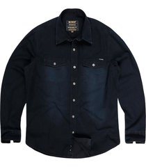 camisa jeans used masculina jeans