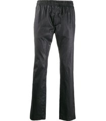 1017 alyx 9sm textured slim-fit track pants - black