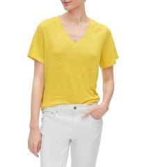 camiseta amarillo gap