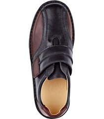 skor med kardborreknäppning roger kent svart::bordeaux