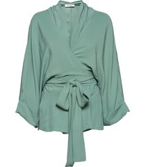 rodebjer tennessee twill kimonos groen rodebjer