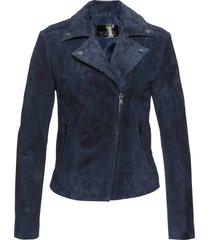 giacca in pelle (blu) - bpc selection premium