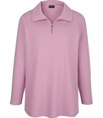 sweatshirt m. collection roze