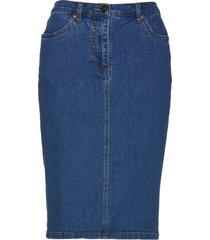 gonna di jeans con bottoni (blu) - bpc selection