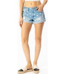 kancan women's hazel mid rise shorts