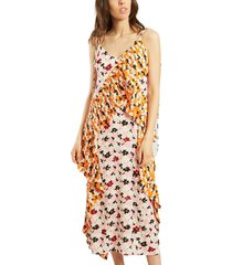 jackie flowers midi dress