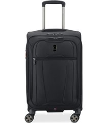 """closeout! delsey helium 360 21"""" expandable spinner carry-on suitcase, created for macy's"""