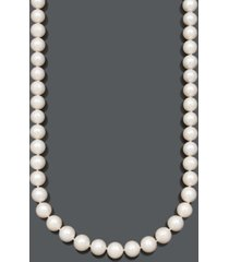 belle de mer a+ cultured freshwater pearl strand necklace (11-13mm) in 14k gold