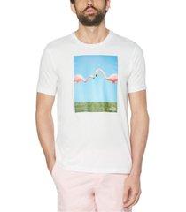 original penguin men's friendly flamingos graphic t-shirt