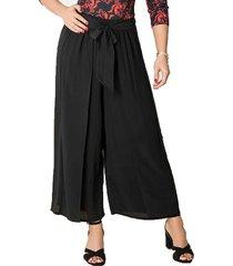envío gratis pantalon ariana negro para mujer croydon