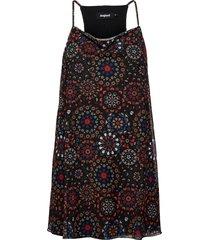 vest zanzibar kort klänning svart desigual