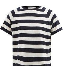 no.177 todd striped stretch-cashmere t-shirt