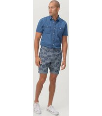 shorts alain i chambray
