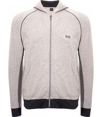 boss hooded sweatshirt - medium grey 50381879-035