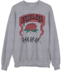 junk food cotton grateful dead sweatshirt