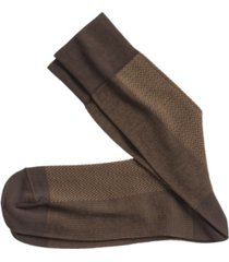 johnston & murphy herringbone panel socks
