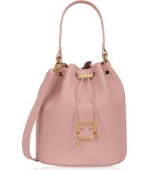 furla corona s drawstring bucket bag