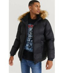 jacka puffer pile jacket