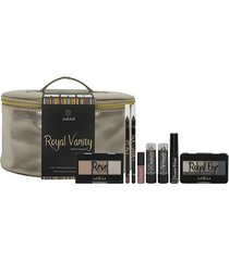 kit de maquiagem joli joli royal vanity cor rose