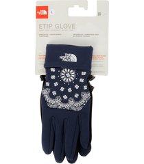 supreme tnf etip glove - blue