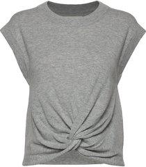 vavara pu t-shirts & tops short-sleeved grijs part two
