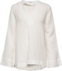 juta blouse 11456 blouse lange mouwen crème samsøe samsøe