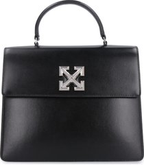 off-white 4.3 jitney leather handbag