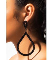 akira damn rhinestone earring