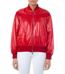 moncler genius red nassau polyamide jacket