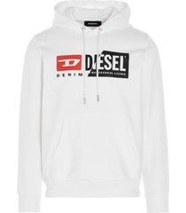 diesel s girk hood cuty sweater