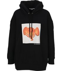 stella mccartney tangerine elephant hoodie