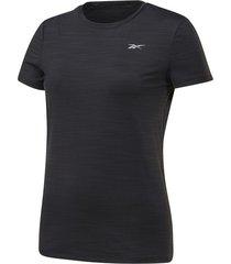 camiseta running reebok one series activchill - negro