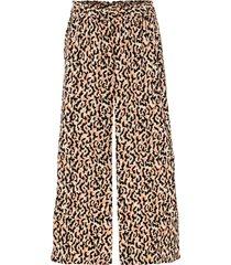 pantaloni culotte fantasia con spacchi (beige) - bodyflirt